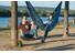 La Siesta Colibri Camo hangmat blauw
